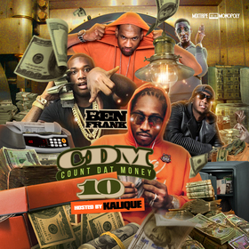 Count Dat Money 10 DJ Ben Frank front cover