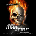 Man on Fire (Hosted by DJ SHYKEY) AdamBom front cover
