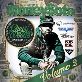 MoneySota 2 (Hosted By Chevy Woods) Mr. Peter Parker front cover