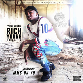 Rich Young Hustler Young Goudie front cover