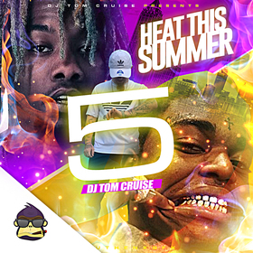 Heat This Summer 5 DJ Tom Cruise front cover