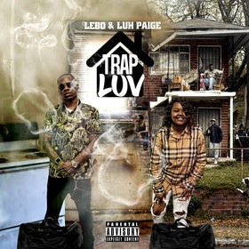 """Lebo x Luh Paige """"Trap Luv"""" Luh Paige front cover"""