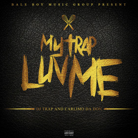 My Trap Luv Me Carlimo Da Don front cover