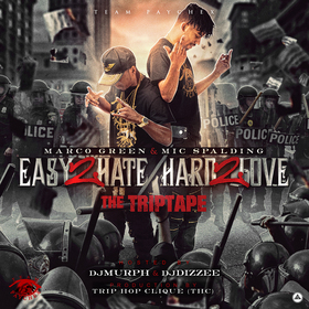 Easy 2 Hate Hard 2 Love Marco Green front cover