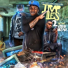 Trap Files 2 (Hosted By Mykko Montana) DJ Cortez front cover
