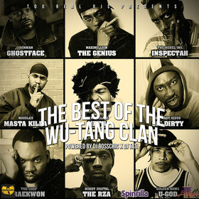 The Best Of The Wu-Tang Clan DJ Boss Chic front cover