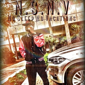 Lil C - N.S.N.V [No Sleep No Vacations] MellDopeAF front cover