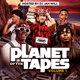 Planet Of The Tapes DJ Jah Will front cover