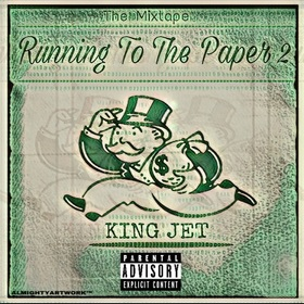 Running To The Paper 2 King Jet front cover