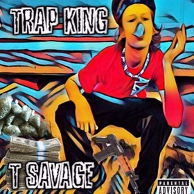Trap King T Savage front cover