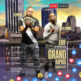Live From Grand Rapids R. Payso front cover