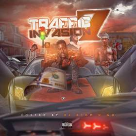 Traffic Invasion Vol.7 DJ Stop N Go front cover