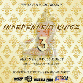 Independent Kingz 3 DJ Will Money front cover