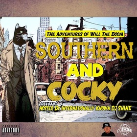 Southern And Cocky Will The Boom front cover