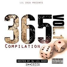 365 Ent. Compilation Lil Zaza front cover