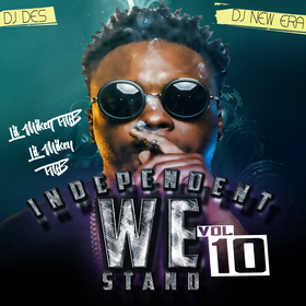 Indie We Stand 10 Hosted by DJ DES  Dj New Era Lil Mikey TMB front cover