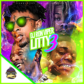 Litty 3 DJ Ron Viper front cover