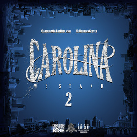 Carolina : We Stand 2 DJ DERRICK GEETER front cover