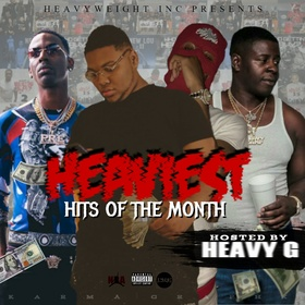 Heaviest HITS Of The Month Heavy G front cover