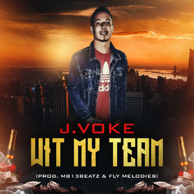 Wit My Team J.Voke front cover