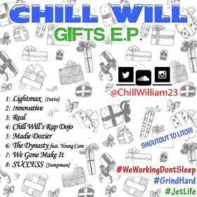 Gifts E.P. Chill Will front cover