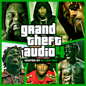 Grand Theft Audio 4 DJ Jah Will front cover