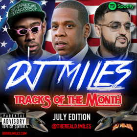 Tracks of the Month (July Edition) (2017) DJ Miles front cover