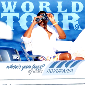 World Tour 9 DJ Wats front cover