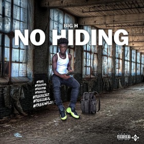No Hiding Bigg H front cover