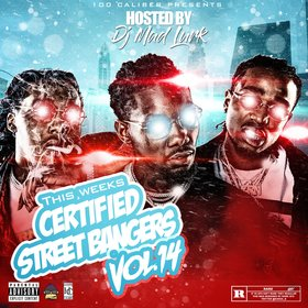 This Weeks Certified Street Bangers Vol.14 DJ Mad Lurk front cover