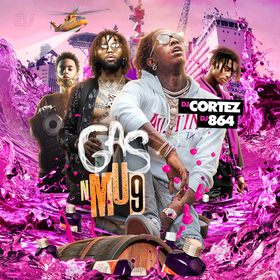 Gas N Mud 9 DJ Cortez front cover