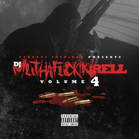 DJ Muthafuckin Rell 4 DJ Rell front cover