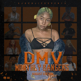 DMV Monthly Bangers (August Edition) DJ Benji front cover