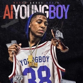 AI YOUNG BOY DJSweizy15 front cover