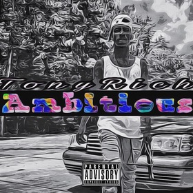 Tony Rich - Ambitious MellDopeAF front cover