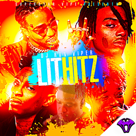 Lit Hitz (Hot Tracks This Week) DJ Ron Viper front cover