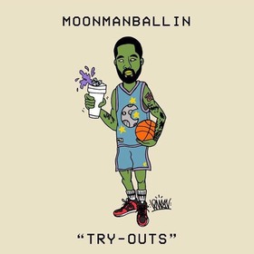 Try Outs MoonMan Ballin front cover