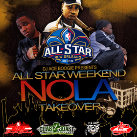 All Star Weekend Nola Takeover DJ AceBoogieNola front cover