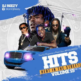 Heat In The Streetz 15 DJ Reezy front cover