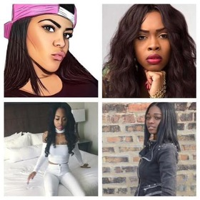 Tink, Romiti, Ann Marie, Sonta & Sydney Renae (Mix) OfficialYoungRB front cover