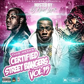 This Weeks Certified Street Bangers Vol.15 DJ Mad Lurk front cover