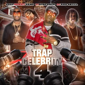 Trap Celebrity 4 DJ ASAP front cover