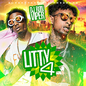 Litty 4 (Hot Tracks This Week) DJ Ron Viper front cover