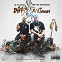 Dirty But Clean Q Da Fool front cover