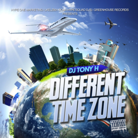 Different Time Zone DJ Tony H front cover
