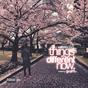 Things Are Different Now Atlas Jones front cover