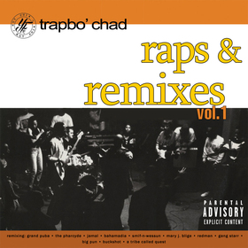 Raps And Remixes Vol.1 Trapbo' Chad front cover