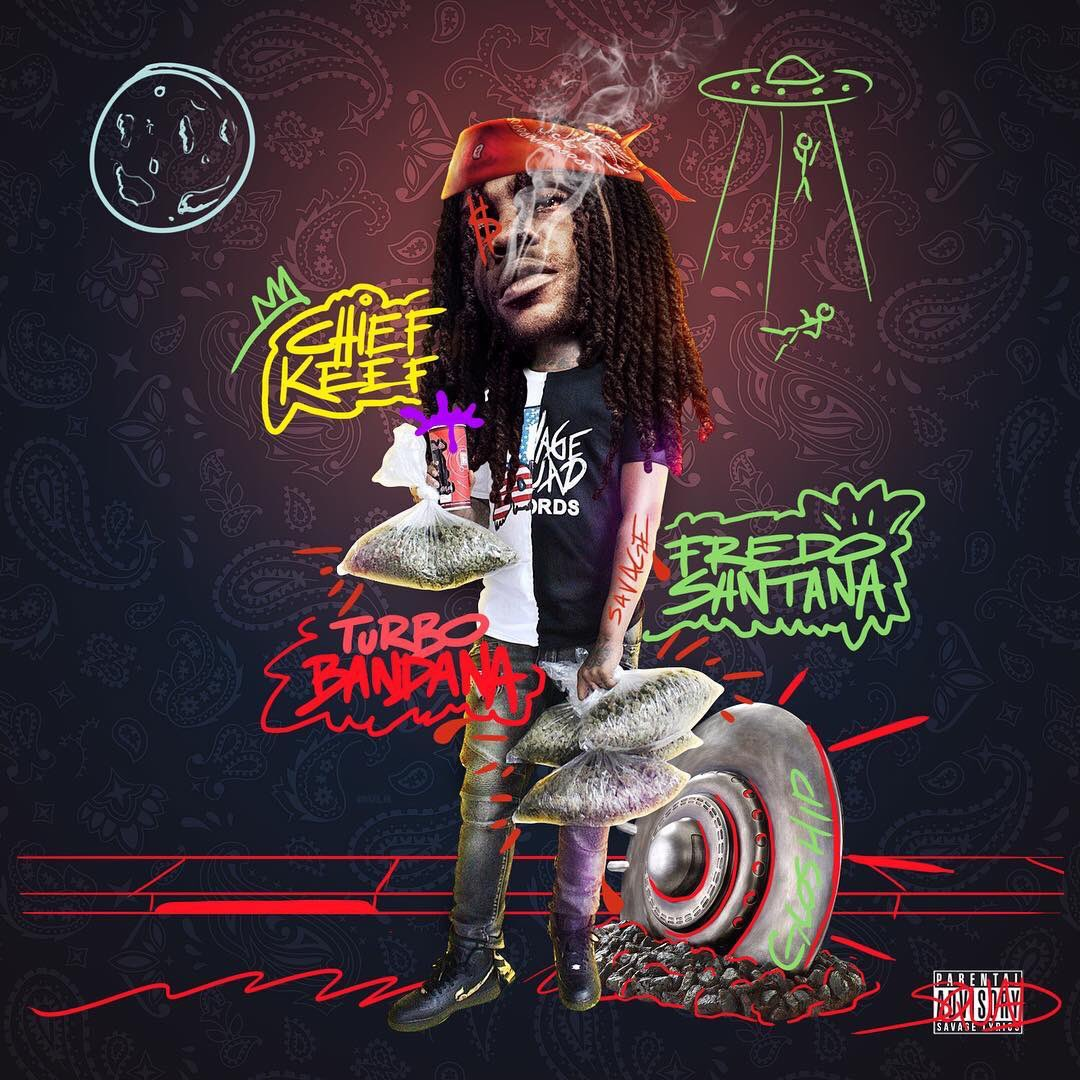 Turbo Bandana Chief Keef front cover