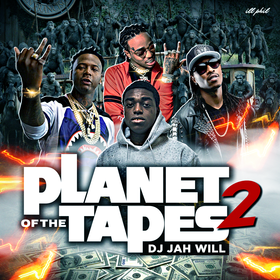 Planet Of The Tapes 2 DJ Jah Will front cover