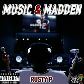 Rusty P - Music & Madden TyyBoomin front cover